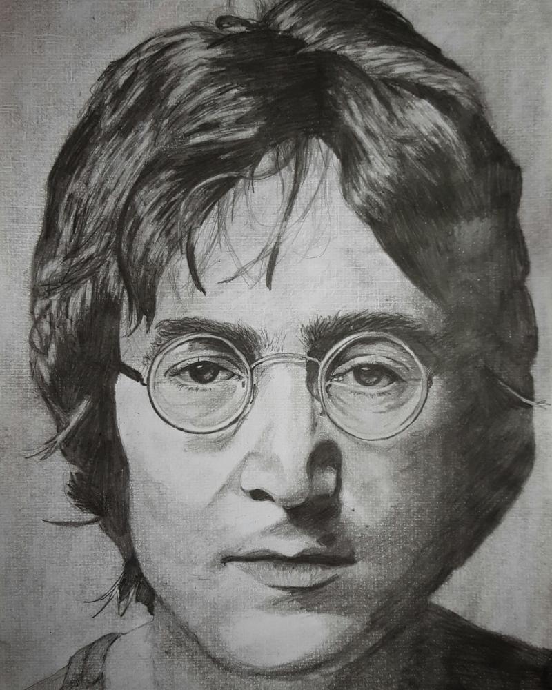 John Lennon by rfic